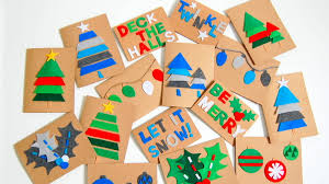 Image result for kid's holiday christmas card making craft time