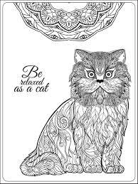 Gatti 7959 Gatti Disegni Da Colorare Per Adulti Con Gatti E Cani Da