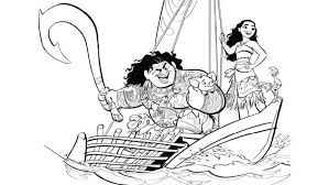 You Ll Love These Printable Moana Coloring Pages D23