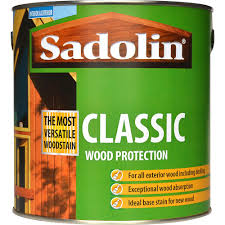 Sadolin Classic Colours Woodstain 2 5 Litre Stains Varnish