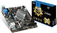 J1900I MSI J1900i <b>Intel Celeron J1900</b> processor, DDR3 1066/1333 ...