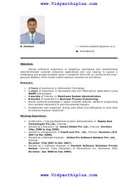 phil computer science resume format and samplem phil computer science resume format and sample