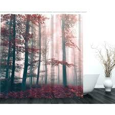 nature shower curtain shower curtains bathroom engaging nature shower curtains 3 forest curtain autumn fall decor nature shower curtain