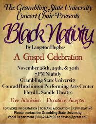 Grambling State University Meet The Cast The Black Nativity