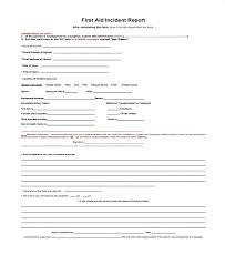 Medical Incident Report Form Mwb Online Co
