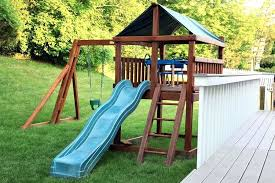 outdoor playsets for small yards backyard for small yards