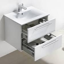 Bathroom Vanity Set Buy Caen 24 Inch Wall Mount Modern Bathroom Vanity Set High Glossy