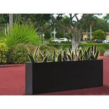 jay scotts camoux rectangular fiberglass planter