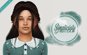 Sims 4 Alpha Toddler Hair - Drone Fest