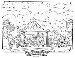 Why Do We Call It Christmas Book Nativity Coloring Page Whats