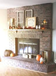 brick fireplace decor brick fireplace decor photo 1 of best brick fireplace remodel ideas on brick
