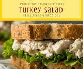 after the holidays turkey salad