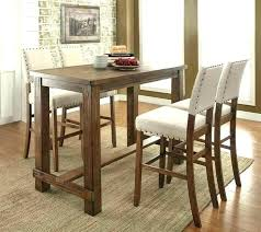 high round dining table counter height bar table stylish high round dining table narrow counter height