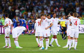 Italy defeat England in Euro 2012 ...