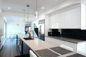 Glossy Kitchen Cabinets Brown And White Kitchen Cabinets High Gloss