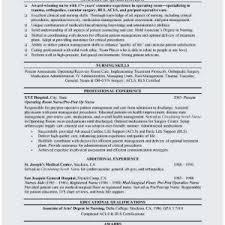 Registered Nurse Objective For Resume 70 Awesome Registered Nurse