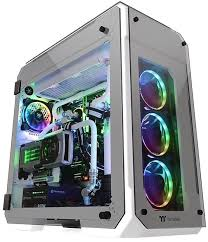 Купить <b>Thermaltake View 71</b> TG CA-1I7-00F6WN-00 White в ...