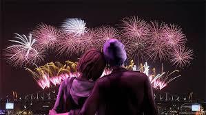 new years eve loving couple romantic