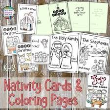 Save 50% on this item by purchasing it in my huge christmas coloring bundle, along with over 100. Nativity Christmas Cards And Coloring Printables By That Fun Reading Teacher