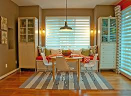 rug under kitchen table. Rugs Under Kitchen Table Carpet Dining Striped Rug  More Relaxing With . Fresh