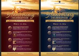 anniversary poster template church anniversary flyer and poster template godserv
