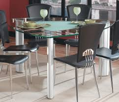Metal Kitchen Table And Chairs Charming Triangle Black Metal Triangle Dining Table Wooden Table