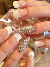 Nail Art Swarovski Crystals: Swarovski crystal bow nail art ...