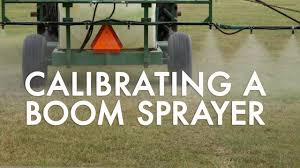 Boom Sprayer Calibration Chart How To Calibrate A Boom Sprayer 1 128 Of An Acre Method