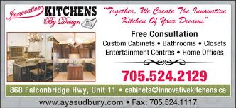 Innovative Kitchens By Design Inc   Ads