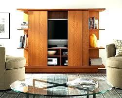 stand sliding door bedroom wardrobe media cabinet with doors wooden wood french exterior wo