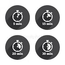 Timer Fifteen Minutes 15 Min Stock Vectors Royalty Free 15 Min Illustrations
