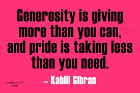 Generosity Quotes Magnificent Generosity Quotes And Sayings Images Pictures CoolNSmart