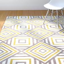 yellow and white rugs yellow and white area rug outstanding street hand tufted area outstanding street yellow and white rugs