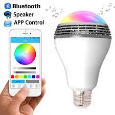 Smart Bulb Bluetooth Speaker Lamp Led Populargiftse