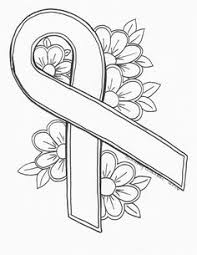 Small Picture Breast Cancer Ribbon Coloring Sheet Clipartsco dami8 coloring