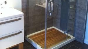 home and furniture amazing teak shower floor of custom arbteak teak shower floor thejobheadquarters