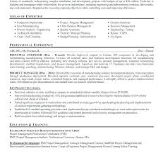 Construction Project Manager Resume Template Free Project Manager