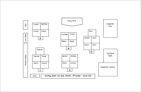 Classroom Seating Chart Template 22 Examples In Pdf Word