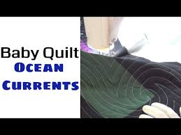 83) Machine Quilting a Baby Quilt with Ocean Currents - Machine ... & (83) Machine Quilting a Baby Quilt with Ocean Currents - Machine Quilting  for Beginners Adamdwight.com