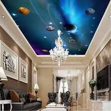 xbwy Custom 3D Ceiling Wallpaper Mural ...