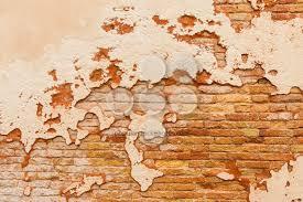 old brick wall broken plaster popular