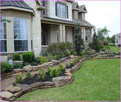 Creative of Front Yard Landscaping Ideas With Stones Landscaping Ideas For Front  Yard With Rocks Home Design Ideas