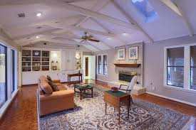 image of ceiling fans in vaulted ceilings