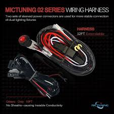 mic tuning inc off road,led lights ,auto accessories,online shopping mictuning switch wiring diagram mictuning 2 lead 12ft led light bar wiring harness on off toggle