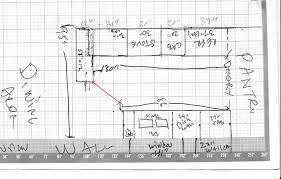 Square Kitchen Floor Plans Interesting Small Kitchen Floor Plans U With Kitchen Floor Plans
