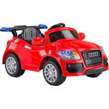 Baby Hope 436 Uzaktan Kumandalı Akülü Araba 12 V Kırmızı