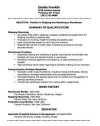 sample warehouse resume. 13 Warehouse Worker Resume Examples Sample Resumes Sample