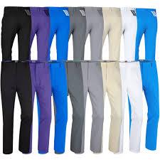 adidas 3 stripe pants. 2017 adidas puremotion stretch 3-stripes pants mens golf flat front trousers 3 stripe