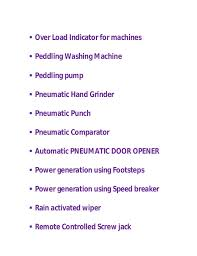 mechanical equipments list mechanical projects list 2014 by technogroovy