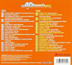 Top 40 Compilation Chart Various Artists Top 40 Beach Party Amazon Com Music